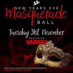 New Year's Eve Masquerade Ball ft. Varski