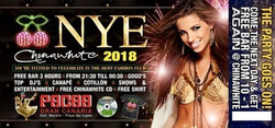 New Year's Eve Party Gran Canaria 2018 @ Chinawhite & Pacha