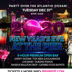 New Year's Eve in Atlantic City at The Pier