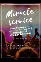 New Year's Miracle Service