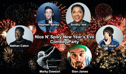 Nice N' Spiky New Year's Eve 2020 Comedy Party with Sindhu Vee, Stephen Bailey, Nathan Caton & more