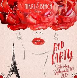 Nikki Beach Ibiza Red Party - Season Closing