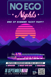 No Ego Nights - End of Summer Yacht Party on Lake Coeur d'Alene
