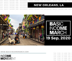 Nola Basic Income March