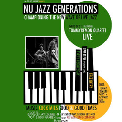 Nu Jazz Generations with Tommy Remon Quartet (Live), Free Entry