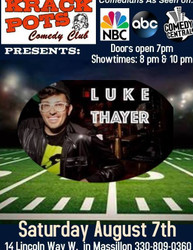 Nyc Comedian Luke Thayer