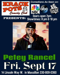 Nyc Comedian Petey Rancel