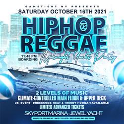 Nyc Hip Hop vs Reggae® Midnight Saturday Cruise Skyport Marina Jewel