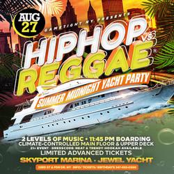 Nyc Hip Hop vs Reggae® Midnight Summer Cruise Skyport Marina Jewel