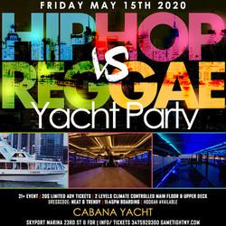 Nyc Hip Hop vs. Reggae ® Midnight Yacht Party at Skyport Marina