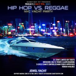 Nyc Hip Hop vs Reggae® Nyc Sunset Cruise Skyport Marina Jewel Yacht