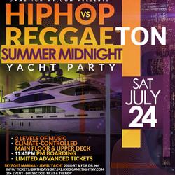 Nyc Reggaeton Vs Reggae Vs Hip Hop Midnight Cruise Skyport Marina Jewel Yacht