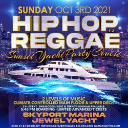 Nyc Sunday Sunset Hip Hop vs Reggae® Cruise Skyport Marina Jewel Yacht