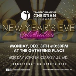 Nye Celebration at Transformation Christian Fellowship
