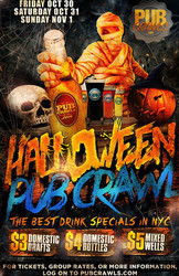 Official HalloWeekend Pub Crawl in New York City (3 Day) - October 2020