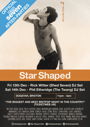 Official Shed Seven Aftershow Party Featuring Rick Witter Guest Dj Set!