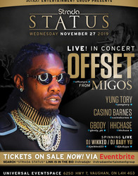 Offset From Migos Live Nov 27th