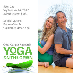 "Ohio Cancer Research ""yoga On The Green"""