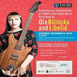 Ola Bilinska: Contemporary Compositions of Yiddish and Polish Music