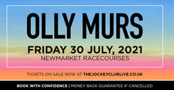Olly Murs live at Newmarket Racecourses!