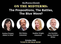 On the Midterms: The Propositions, The Battles, The Blue Wave?