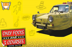 Only Fools and 3 Courses - 1st & 2nd November Restaurant Kastrup Fortet