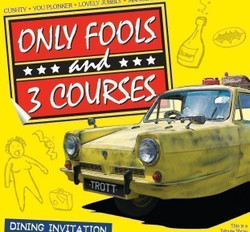Only Fools and 3 Courses -Cannock 08/10/2021