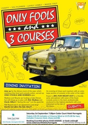Only Fools and 3 Courses Comedy Night and Dinner in Harrogate