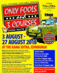 Only Fools and 3 Courses Comedy Night at the Edinburgh Fringe