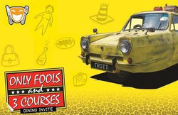 Only Fools and 3 Courses Dinner Show - Kryal Castle 8th March