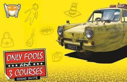 Only Fools and 3 Courses - Holiday Inn Birmingham Airport 02/11/2019