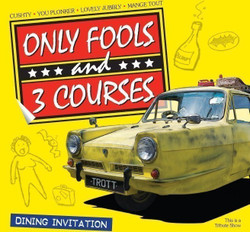 Only Fools and 3 Courses - Mercure Maidstone Great Danes Hotel 20/06/2021 @ 1pm