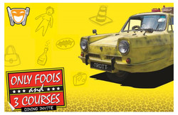 Only Fools and 3 Courses - Park Inn by Raddison Palace Southend-on-Sea 11th October @ 1pm