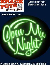 Open Mic Night at Krackpots Comedy Club