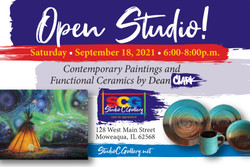 Open Studio at the Studio C Gallery in Moweaqua, Il