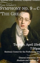 """Osu Symphony Orchestra Performs Schubert 9 (""""The Great"""")"""