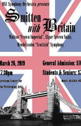 "Osu Symphony Orchestra Presents ""Smitten with Britain"""