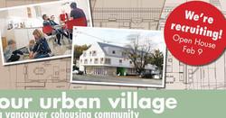 Our Urban Village Cohousing Info Session