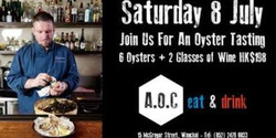 Oyster Tasting Event - Sat 8 Jul from 6pm to 10pm
