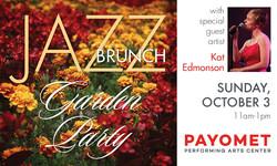 Payomet's Jazz Brunch Garden Party with Kat Edmonson