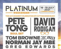 Platinum Weekender - Pete Tong, David Rodigan, Norman Jay