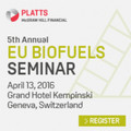 Platts 5th Annual Eu Biofuels Seminar