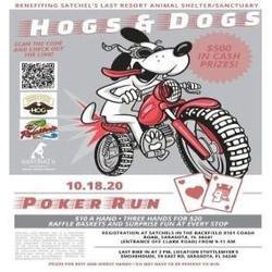 Poker Run for Satchel's Last Resort Animal Shelter and Sanctuary