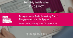 Programme Robots using Swift Playgrounds with Apple