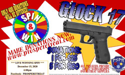 Pspr Fundraiser: Glock 17 **live** Spin-and-Win