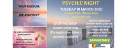 Psychic Night - 10 March