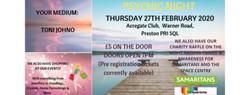 Psychic Night - 27 February
