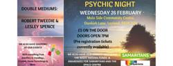 Psychic Night - Moss Side Community Centre