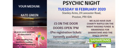Psychic Night - Stanley Arms