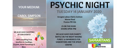 Psychic Nights - Acregate Club